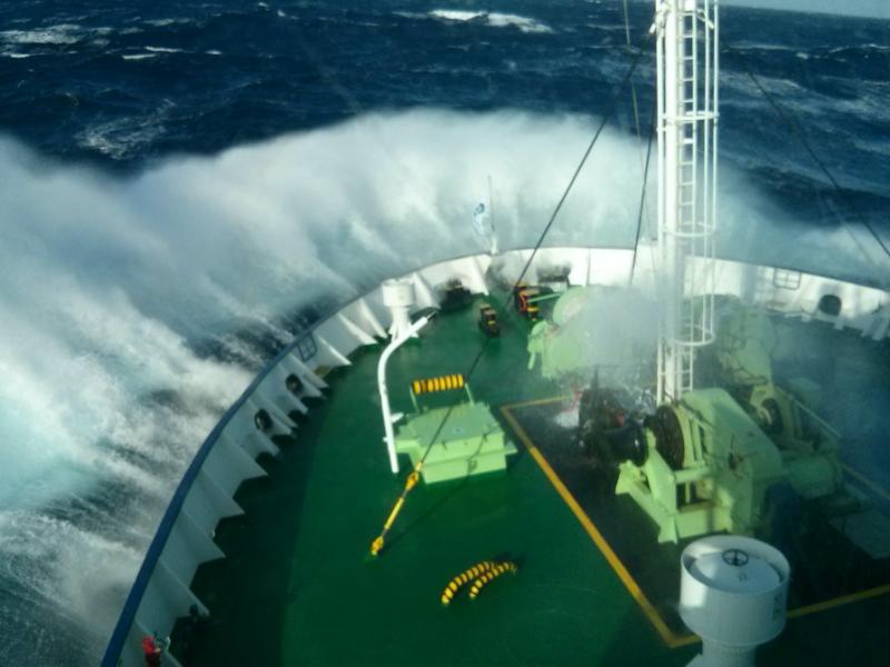 Θάλασσα Ντρέικ μεταξύ Ν. Αμερική και Ανταρκτική. Από τις πιο άγριες θάλασσες