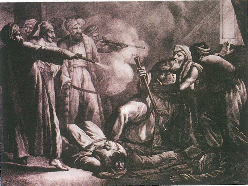 Ο φόνος του Αλή Πασά. Εθνικό Ιστορικό Μουσείο