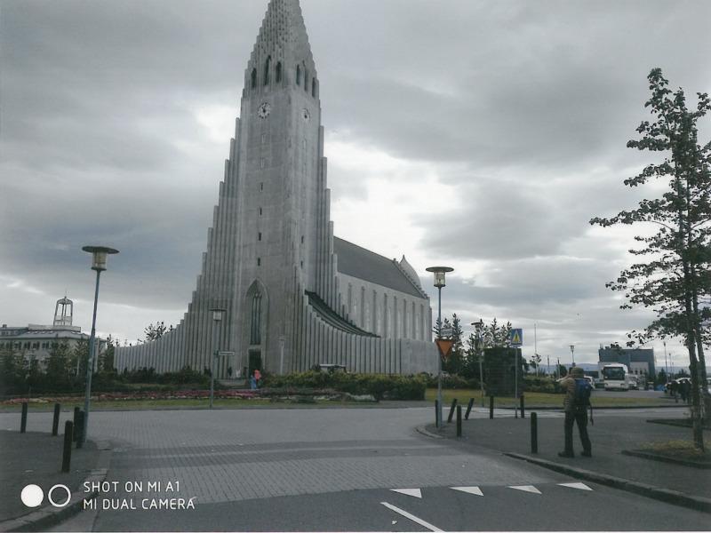 Ισλανδία Ρέικιαβικ. Καθεδρικός ναός