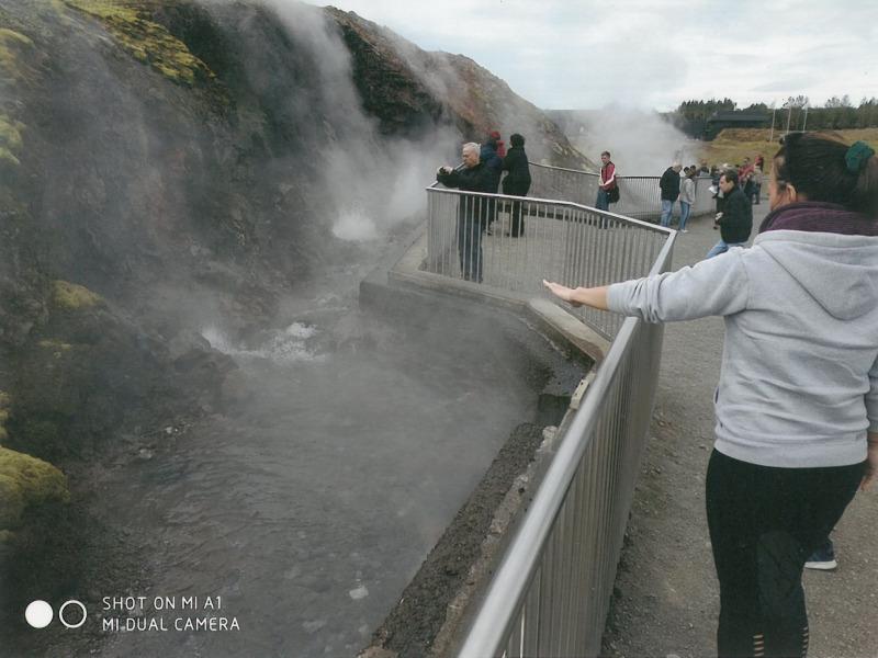 Γύρος Ισλανδίας. Θερμές πηγές
